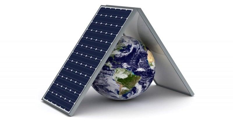 Paneles solares en el mundo